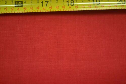 "35/"" Wide Vintage 1940's-60's By-the-Half-Yard M5986 Red Quilter/'s Cotton"