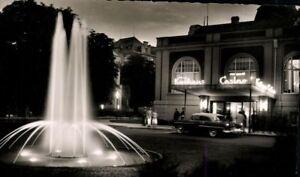 Cartolina-Ak-Sw-Bagno-Neuenahr-Casino-Fontana-Fotographie-Metz-Karten-Menta