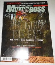 Transworld Motocross Magazine Davi Millsap & 6D Helmets May 2013 071714R1