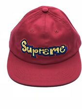 cddb4ef0ff8 item 2 New Supreme Gonz Logo 6-Panel Cap Hat Red New SS18 100% Authentic  -New Supreme Gonz Logo 6-Panel Cap Hat Red New SS18 100% Authentic