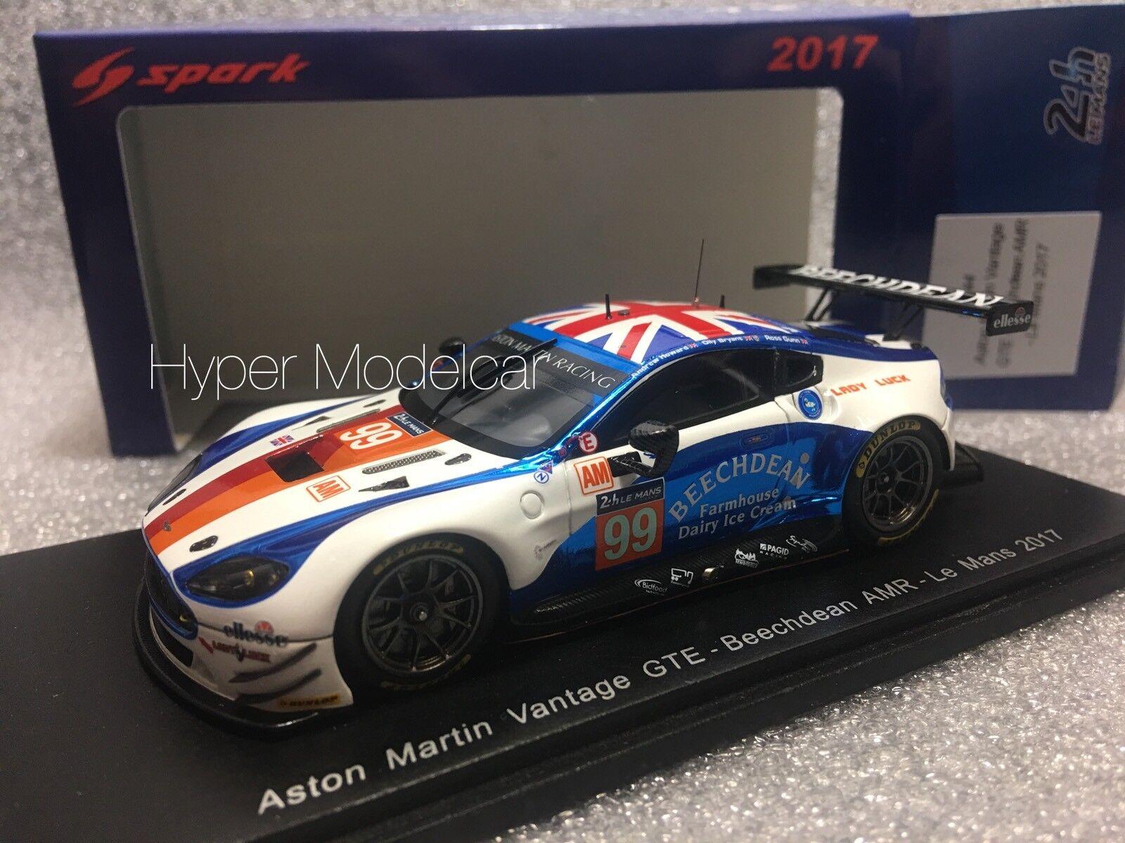 Spark 1 43 Aston Martin Vantage GTE Team Beechdean    99 24h Le Mans 2017 S5844