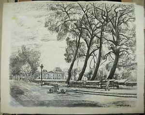G-Andrieu-Print-Original-Signed-and-Justified-5-7-all-Quai-D-039-Angers-c1930