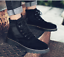thumbnail 3 - Mens Fashion Riding Boots High Top Lace Up Round Toes Solid Autumn Ankle Booties