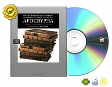 The Apocrypha and Pseudepigrapha of the Old Testament in English eBooks On CD