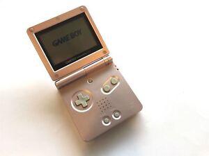 Nintendo-Gameboy-SP-PINK-Game-Boy-Advance-GBA-Konsole-Plus-Ladegeraet-Grade-B