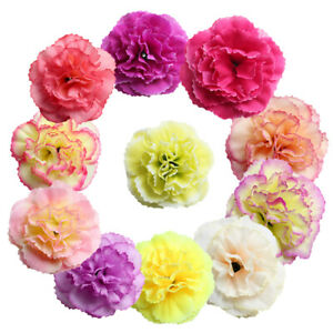 20 stücke künstliche seide azaleen blüten köpfe knospen