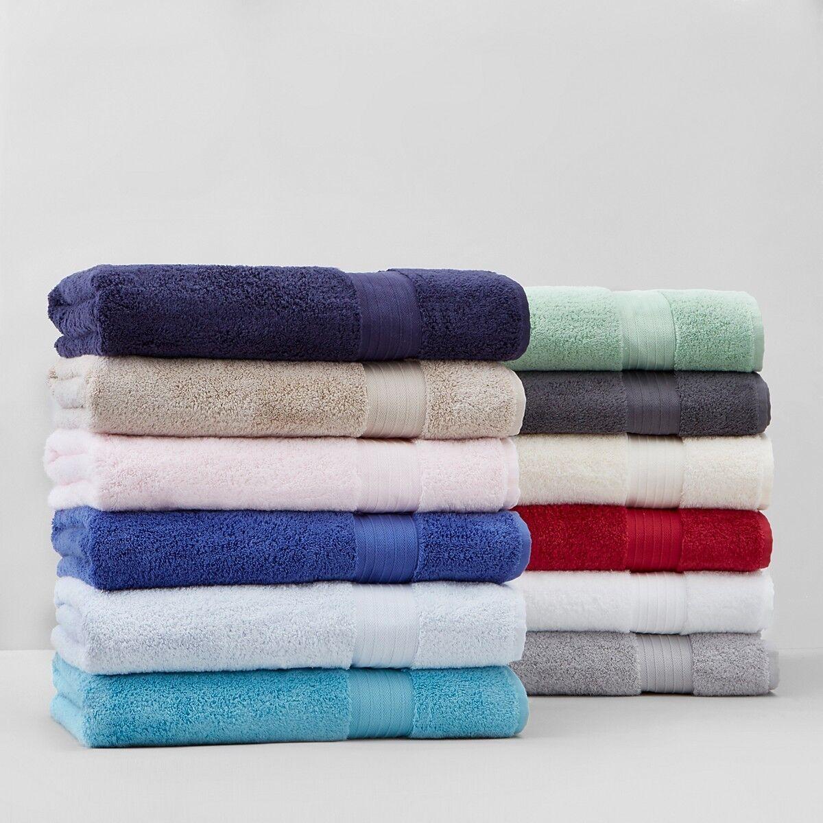 Schlossberg AirDrop 100% Cotton 2-PC Bath Sheet and Hand Towel Set Grün G2125