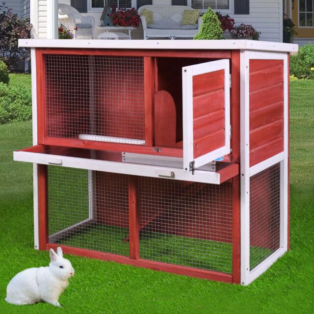 Advantek The Row House Rabbit Hutch 21904n For Sale Online Ebay