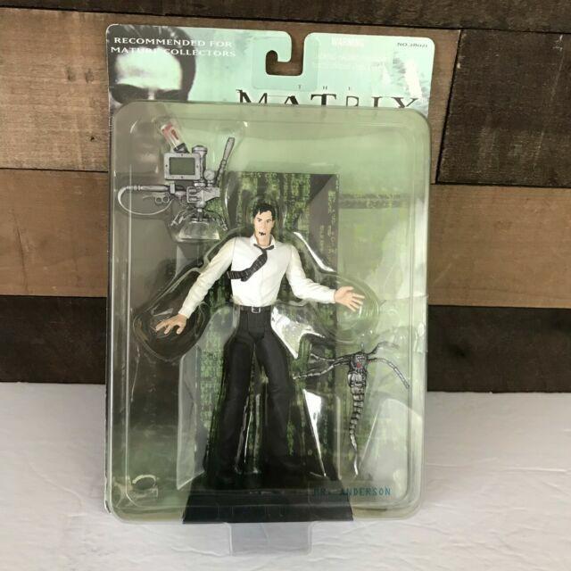 "Anderson Action Figure Mr The Matrix /""The Film/"""