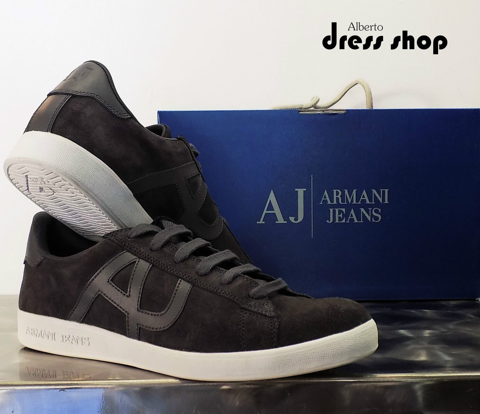 935565 Scarpe Low Jeans Sneakers Art Uomo Cut Armani Cc501 18q7wFgx