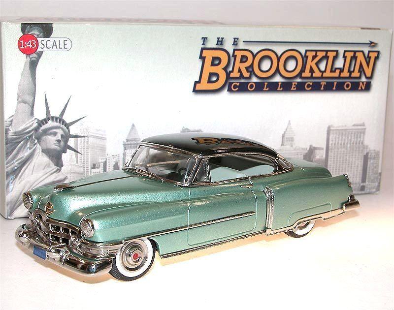 BROOKLIN BRK 181 A 1952 Cadillac Series 62 Coupe de ville 2-Tone vert 1 43