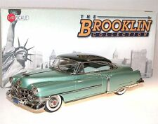 Brooklin BRK 181a, 1952 Cadillac Series 62 Coupe de Ville, 2-Tone green, 1/43