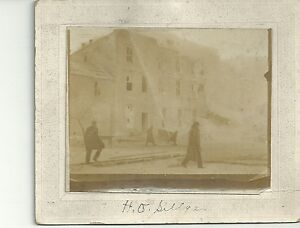Image Is Loading Antique Photograph Cabinet Photo Picture Estherville Ia Iowa