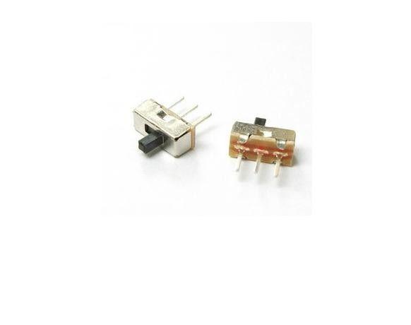 5 pcs Switch ON/OFF SS12D00G3 1P2T Small Size 3.7x8.5mm 3-pin DIP Through-Hole