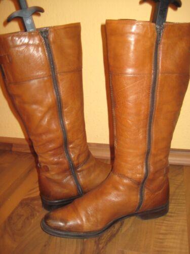 Luxus Wenig Stiefel Np119 Shoes Langschaft Braun Gr39 95