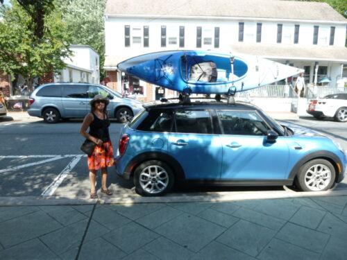 Packem Folding J-Style Kayak Rack Automobile Roof Top Rack Racks 2 Sets in Many Colors