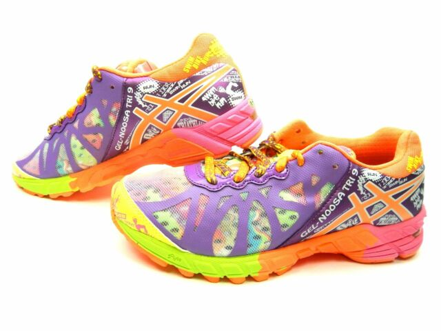 new style cc353 83ae4 ASICS GEL NOOSA TRI 9 T458Q 0231 IRIDESCENT SHOCKING ORANGE WOMEN SHOES