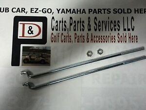 Club Car Golf Cart Battery Hold Down Rods 36 Volt 76 99 48v 2000