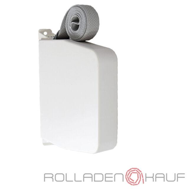 Gurtwickler Aufschraubwickler Maxi Aufputz weiß Rolladen Rollladen mit Gurt 6 m