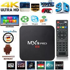 NEU! 4K Smart TV BOX Android 6.0 S905X Quad-Core H.265 Media Player HDMI 8GB DE