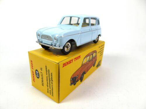 Renault 4L Bleue 1//43 DINKY TOYS 518 Voiture miniature R4 MB328