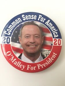 2020-Governor-Martin-O-039-Malley-for-President-Button-034-Common-Sense-for-America-034