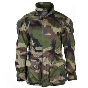 3aaf14f70d5a Original French army Smock jacket CCE camo military combat parka Mod ...