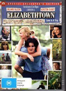 ELIZABETHTOWN-DVD-R4-2006-Orlando-Bloom-VG-FREE-POST