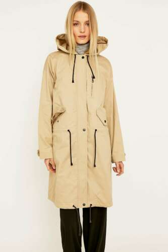 Urban Outfitters Light Before Dark Clean Parka Jacket M RRP £79 New Neutral