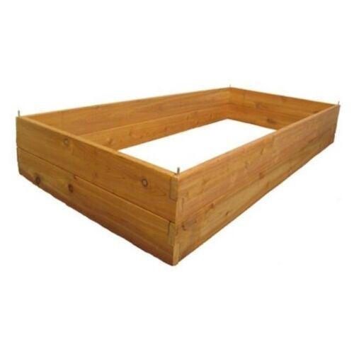 Infinite Cedar 3x6x11 ft Raised Garden Bed Kit