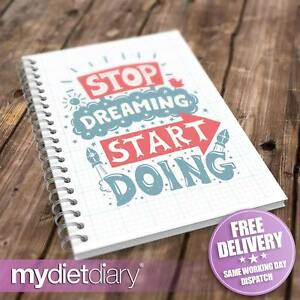 WEIGHT-LOSS-DIARY-Stop-Dreaming-G019W-12wk-diet-weight-loss-slimming-tracker