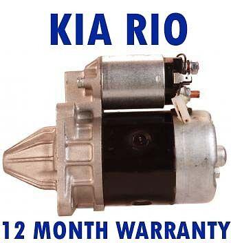 1.3 1.5 16V 2002 2003-2005 starter motor DC/_ Kia rio saloon estate