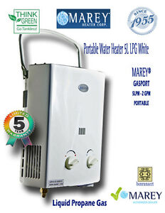 Tankless Hot Water Heater Best Portable Propane Lp Gas Rv