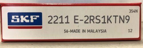 2211E-2RS1KTN9 SKF Self-Aligning Ball Bearing Size 55mm X 100mm X 25mm.
