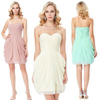 Teens Party Evening Bridesmaid Homecoming Ball Gown Formal Prom Graduation Dress
