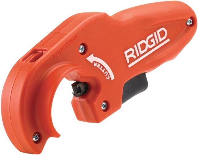 Kunststoff-Rohrabschneider von 50 mm bis 110 mm RIDGID 31657 Modell 154-P Schnelleinstellbarer Rohrabschneider