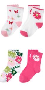 Gymboree Daisy Delightful 12-24 mo 3-4 Socks Butterfly pink 2011