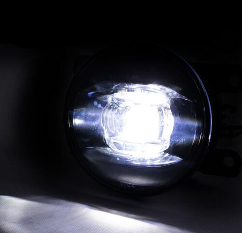 BUMPER REPLACEMENT LED FOG LIGHT LAMP CHROME FOR ACURA FORD HONDA LINCOLN SUZUKI