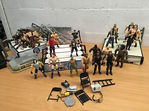 WWE-WRESTLING-FIGURE-MATTEL-BUNDLE-WRESTLING-RING-YOU-CHOOSE