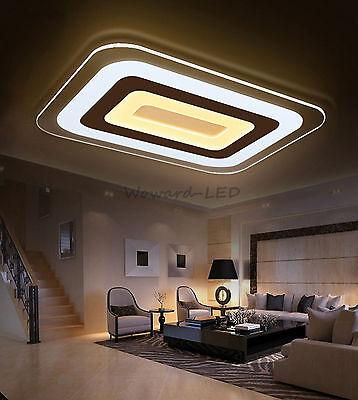 LED Deckenlampe Deckenleuchte 16W bis 143W dimmbar Lampe Beleuchtung WOW