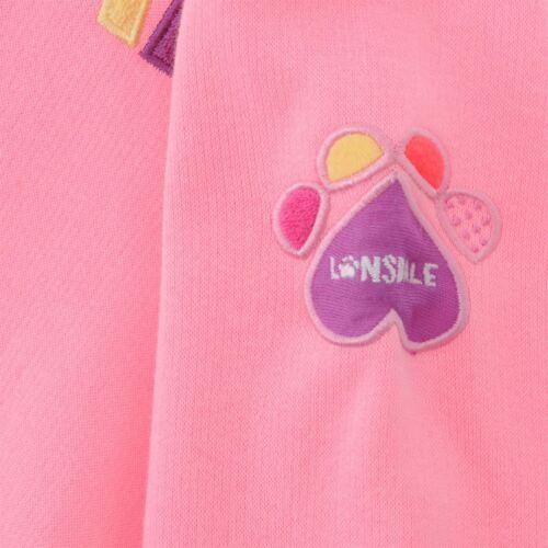 Lonsdale 3tlg 62-92 Mädchen Kinder Anzug Kleid Shirt Hose Gr Set Jacke