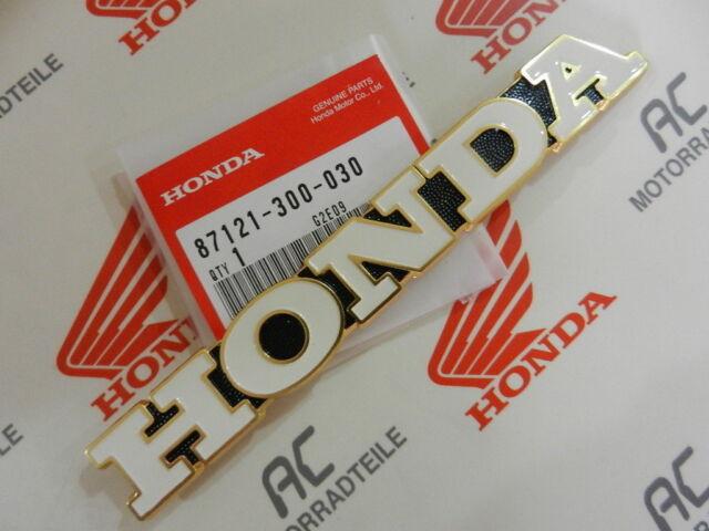 Honda CB 750 Four K1 CB 500 K2 Tank Emblem Right Fuel Side
