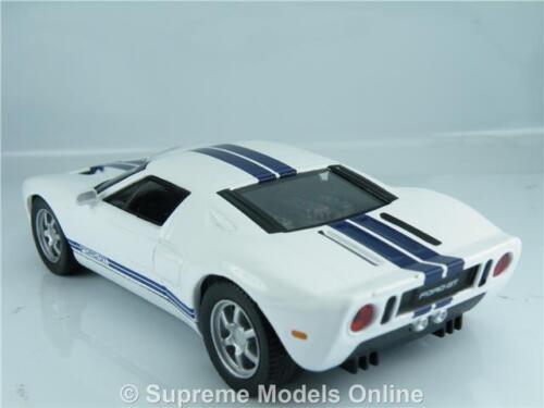 ^ Ford GT40 coche 1//43RD Tamaño Modelo oscuro interior tipo 2DR Azul a Rayas Y0675J ^