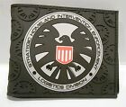 Marvel Comics Marvel Agents of Shield Logo Textured Rubber Bi-Fold WALLET