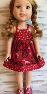 "AMERICAN GIRL WELLIE WISHERS WILLA Doll 14.5 /"" Inch NEW"