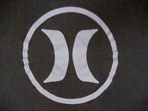 Détails sur Hurley avec Nike Drifit Violet Logo Bleu Marine XL Athlétique T SHIRT B262