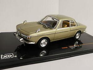 BMW-2000-Cs-1970-1-43-IXO-CLC256-CLC-256-120-Coupe-Champagne-Met