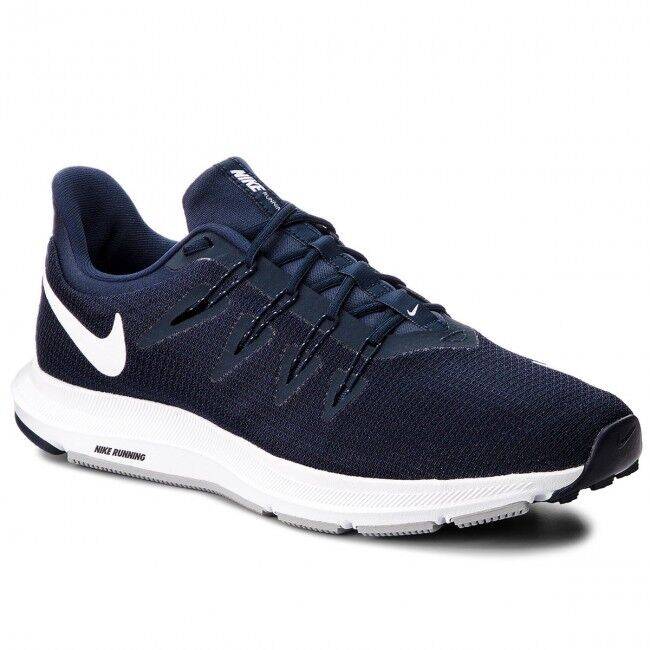 NIKE QUEST shoes men CORSA RUNNING PALESTRA TRAINING MAN SHOES AA7403 400 NAVY