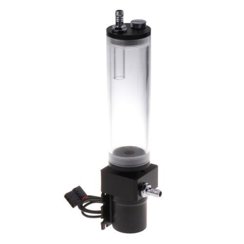 DC12V Computer Water Cooling Cooler 160MM Water Tank Pump Heat Exchanger