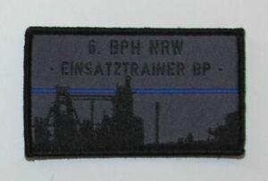 Germany Nordrhein Westfalen 6th BPH Bepo Polizei German Police Riot Patch H&L